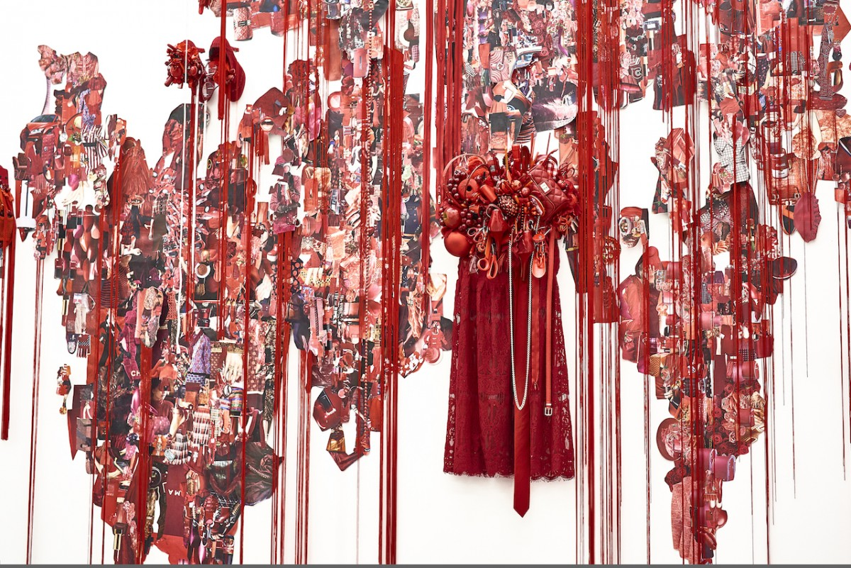 《Red》installation view / Mixed media / 2016 [Photo:Yoshihiro Ozaki]
