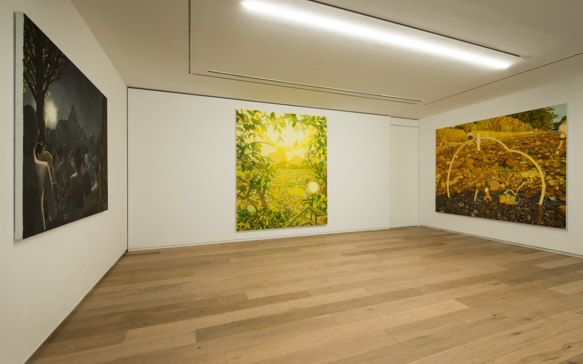 "Chie KODA ""Light of Detour"" installation view / photo:Masaru YANAGIBA"