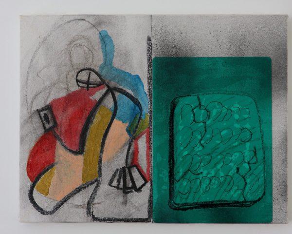 安部悠介 Yusuke ABE 《Draw, stone plate》
