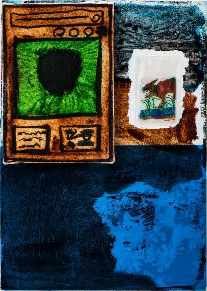 安部悠介 Yusuke ABE《Half-文明(透明な青) / Half-Civilization(Clear blue)》