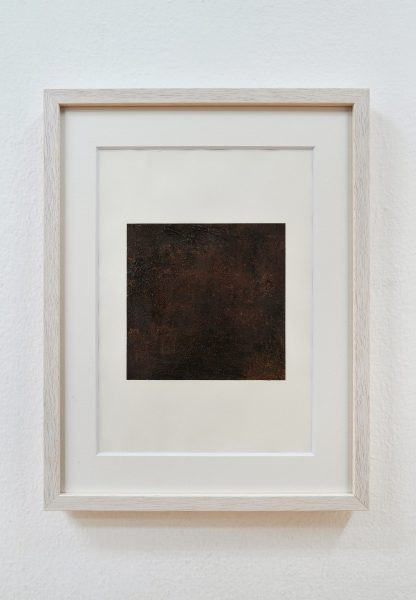 戸張花 Hana TOBARI「leyer1」 2017  油絵の具、画用紙 210×297mm